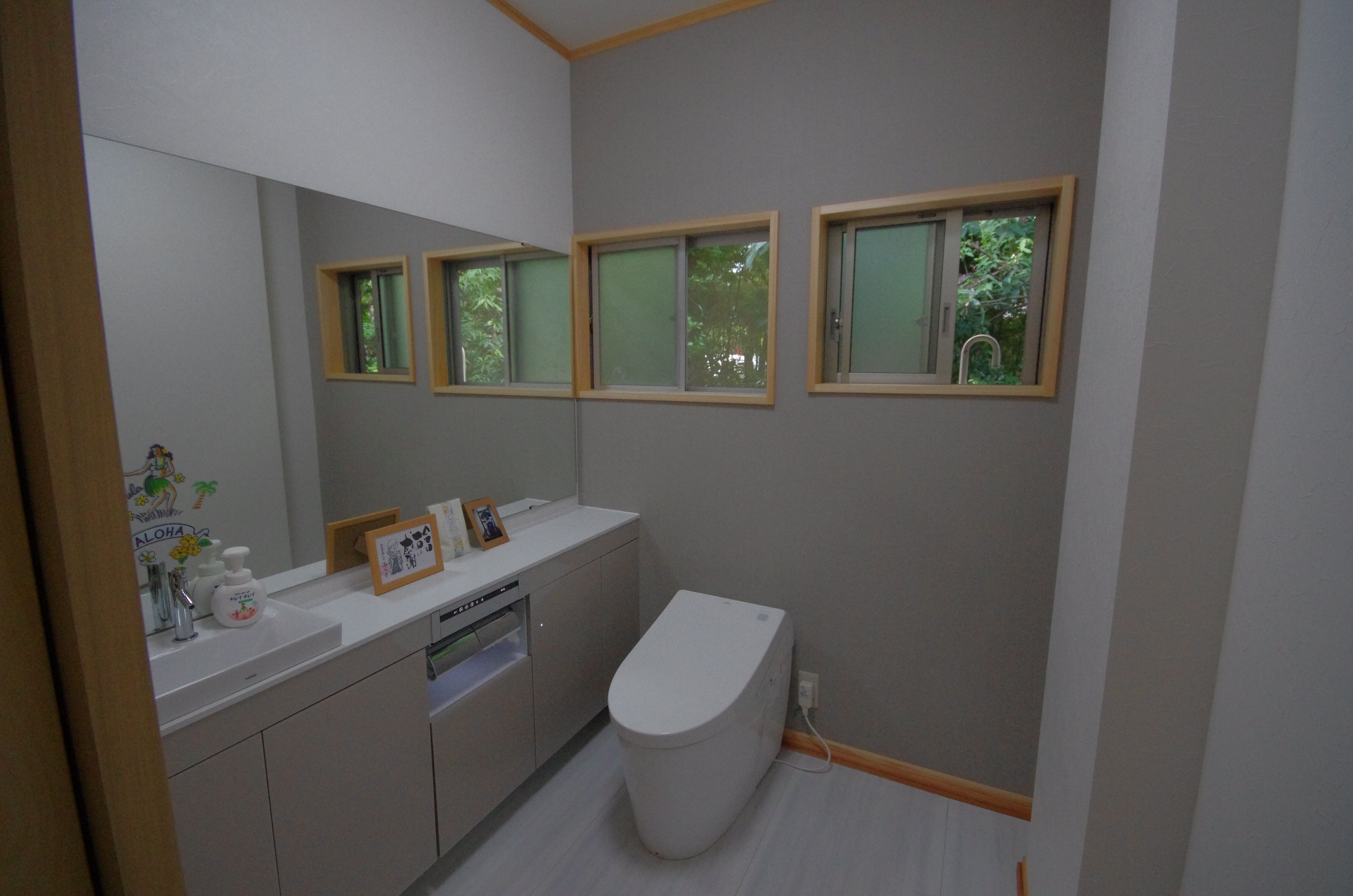 広いトイレで爽やかな毎日】株式会社鮫島工業の実例詳細   リフォーム